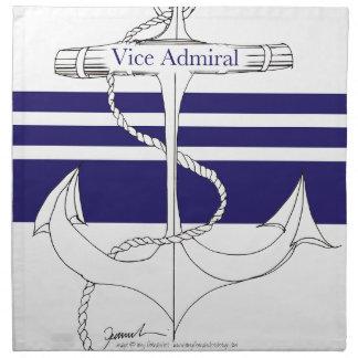 MarinevizeAdmiral, tony fernandes Stoffserviette