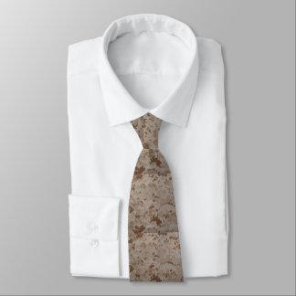 Marinewüsten-Camouflage Krawatte