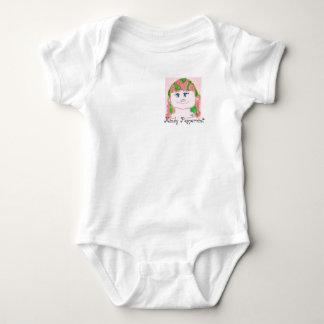 Marionette des kleinen Mädchens Baby-Bodysuit Baby Strampler