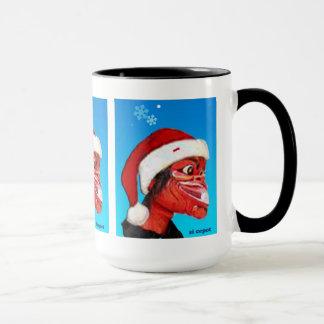 Marionetten cepot Abnutzungs-Weihnachtshut Tasse
