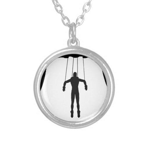 Marionetten-Marionette Selbst Gestaltete Halskette