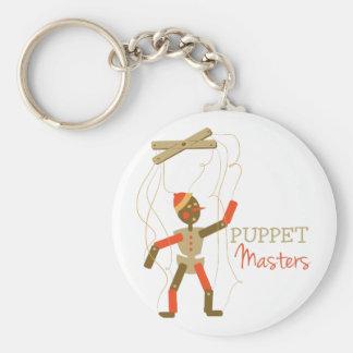 Marionetten-Meister Standard Runder Schlüsselanhänger