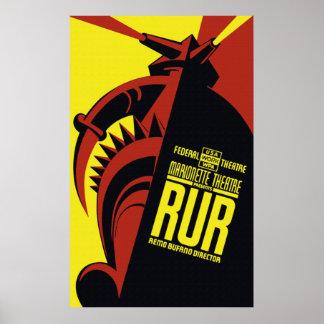 Marionetten-Theater-Plakat Poster