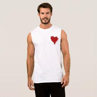 Marissa. Rotes Herzwachs-Siegel mit NamensMarissa Ärmelloses Shirt
