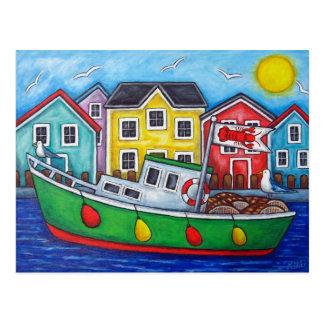 Maritime spezielle Postkarte