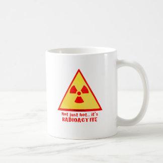 Marke radioaktiv kaffeetasse