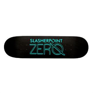 Marken-Himmel-Blau-u. Schwarz-Skateboard-Plattform Individuelle Skateboards