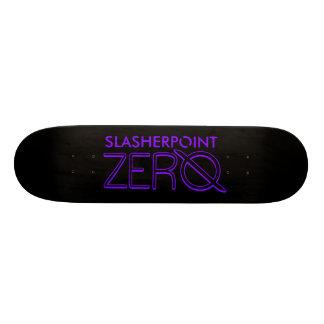 Marken-lila u. schwarze Skateboard-Plattform SP Bedrucktes Skateboard