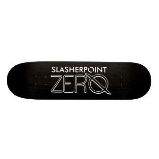 Marken-weiße u. schwarze Skateboard-Plattform SP Skateboardbrett
