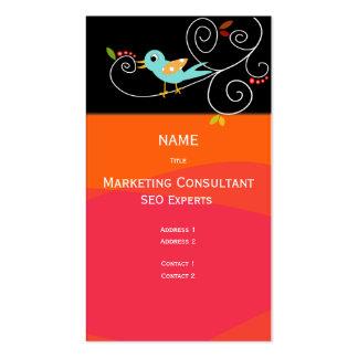 Marketings-Berater der Geschäfts-Karten-SEO Visitenkarten
