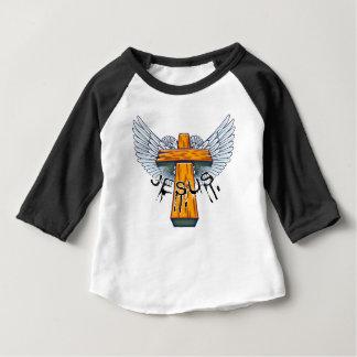 Markieren Sie 15-17 Dornenkrone auf dem Kopf Baby T-shirt