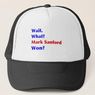 Markieren Sie gewonnenen Sanford Truckerkappe