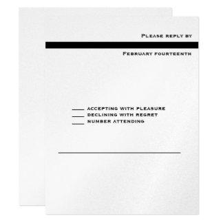 Markieren Sie metallische Bar Mitzvah 10,8 X 14 Cm Einladungskarte
