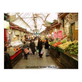 Markt Jerusalems Israel Postkarte