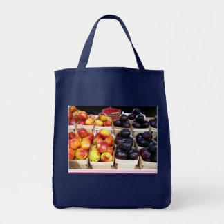 Markt-Pflaumen-Tasche der Bauern