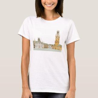 Marktplatz. Brügge Belgien T-Shirt