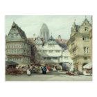 Marktplatz, Frankfurt Postkarte