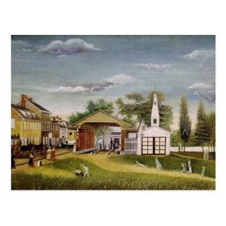 Marktplatz, Germantown, Pennsylvania Postkarte