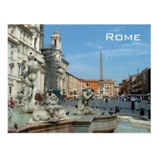 Marktplatz Navona - Rom Postkarte