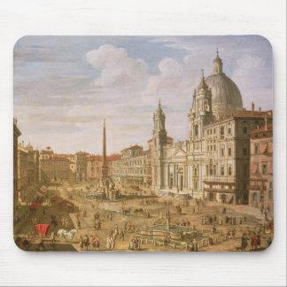 Marktplatz Navona, Rom, schauend in Richtung zu Mousepad