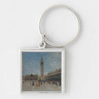 Marktplatz San Marco Schlüsselanhänger