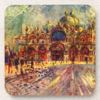 Marktplatz San Marco, Venedig durch Pierre Renoir Untersetzer