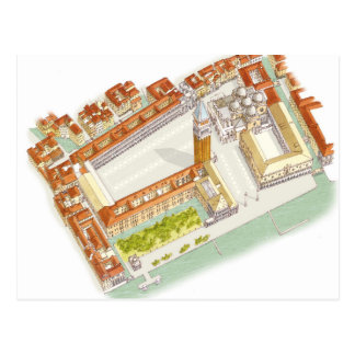 Marktplatz San Marco. Venedig Italien Postkarte