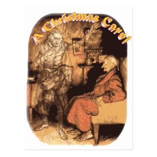 Marley und Scrooge Postkarte