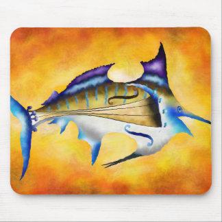 Marlinissos V1 - violinfish Mousepad