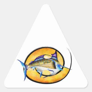 Marlinissos V1 - violinfish witout Rückseite Dreieckiger Aufkleber