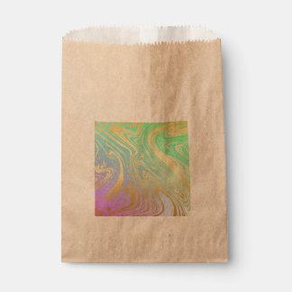 Marmor, Gold, Lavendel, Grün, Rosa, Strudel, Geschenktütchen