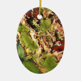 Marmor mögen festliche SaisonalHerbstfarben Keramik Ornament