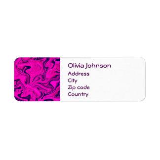 Marmorentwurf in rosa, lila, ultraviolett