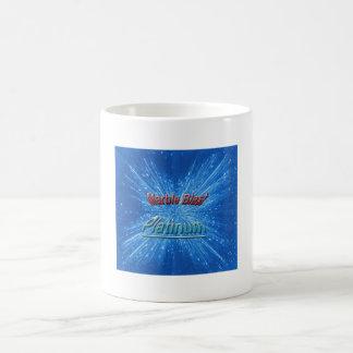 Marmorexplosions-Platin-Tasse Tasse