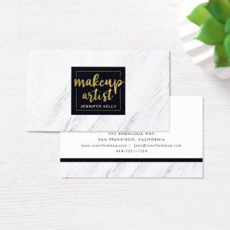 MarmorMaskenbildner-Visitenkarte Visitenkarte