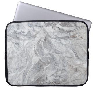 Marmormuster Laptopschutzhülle