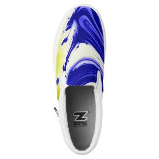 MarmorspritzenfarbWirbel zipz Slip-On Sneaker