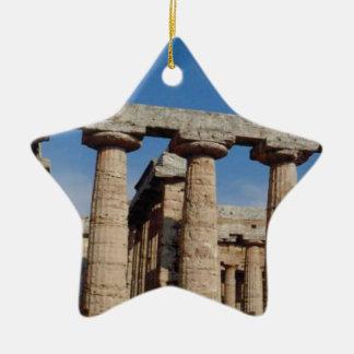 Marmortürme von altem Griechenland Keramik Ornament