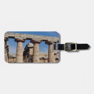 Marmortürme von altem Griechenland Kofferanhänger