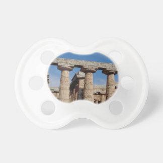 Marmortürme von altem Griechenland Schnuller
