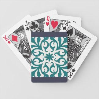 Marokkaner blühen Spielkarten