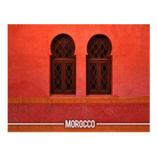 Marokkanische Architektur, Marrakesch-Stadt Postkarte