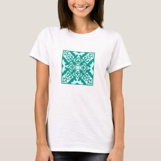 Marokkanische Fliese - Türkis und Aqua T-Shirt