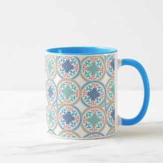 Marokkanische Keramikentwurfs-Wecker-Tasse Tasse