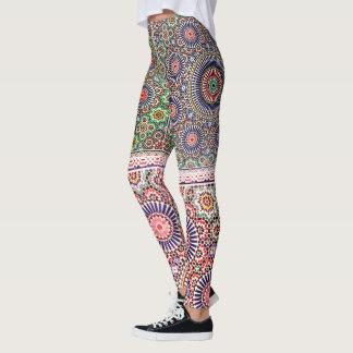 Marokkanische Pop-Mode-Gamaschen Leggings