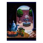 Marokkanischer tadelloser Tee Postkarten