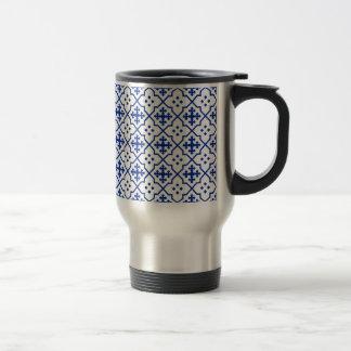 Marokkanisches Blau Reisebecher