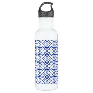 Marokkanisches Blau Trinkflasche