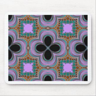 Marokkanisches geometrisches Blumenmuster Mauspad