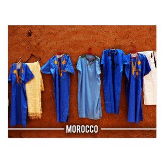 Marokkanisches Kleid Postkarte